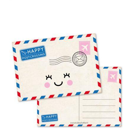 Kaart Happy postcrossing