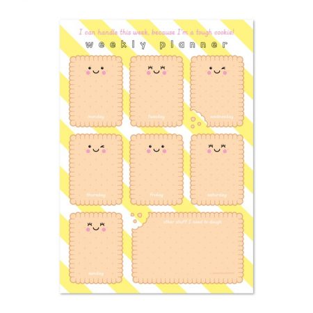 Weekplanner A4 cookie