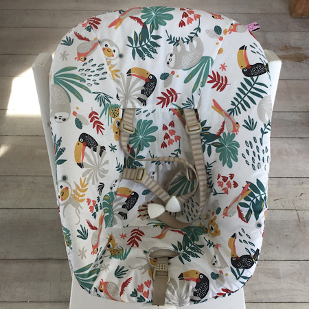 Stokke Newborn hoes jungle wit