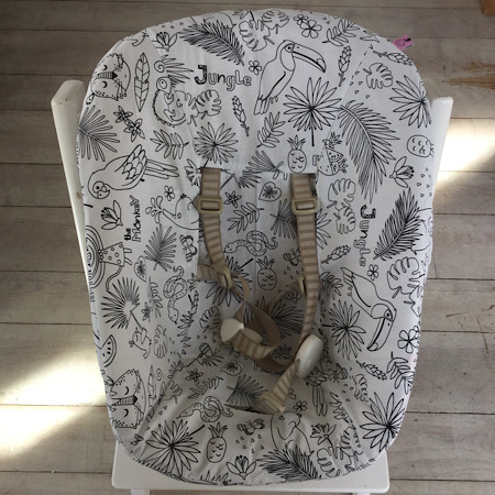 Stokke Newborn hoes Jungle zwart wit