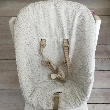 Stokke Newborn hoes Wit met zilveren sterretjes
