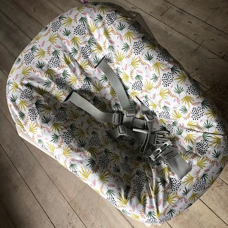 Stokke Newborn hoes nieuw model! Blaadjes roze