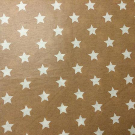 Op Bestelling Tripp Trapp Kussenset beige met witte sterren
