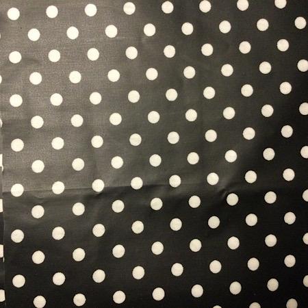 Op Bestelling Tripp Trapp Kussenset zwart met witte stippen