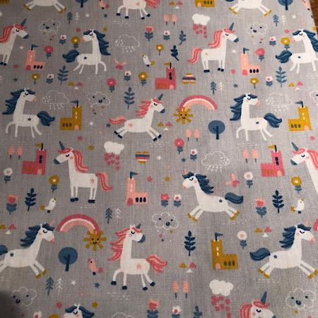 Op bestelling Stokke Newborn hoes unicorn grijs