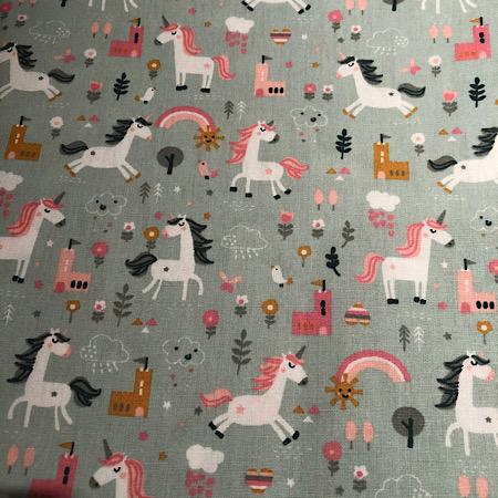 Op bestelling Stokke Newborn hoes unicorn mint