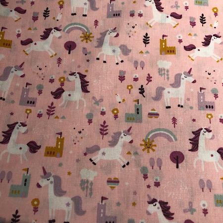 Op bestelling Stokke Newborn hoes unicorn roze