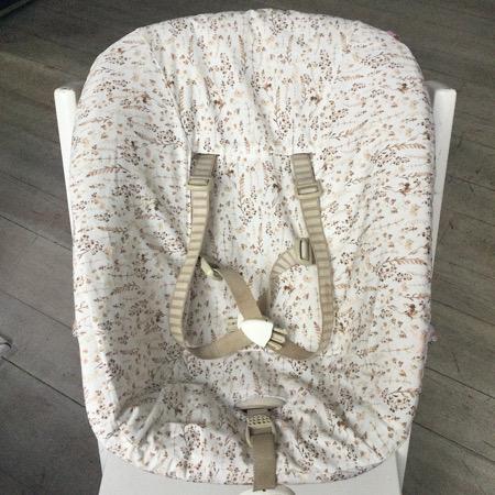 Stokke Newborn hoes Botanisch digitale print droogbloemen