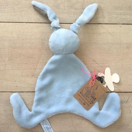 Tutlapje konijn blauw