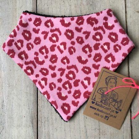 Bandana slab panter roze