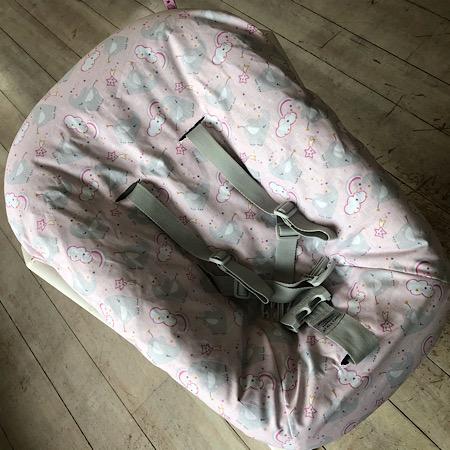 Stokke Newborn hoes nieuw model! Olifant roze