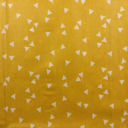 Pre-order Tripp Trapp Kussenset geel met witte driehoekjes