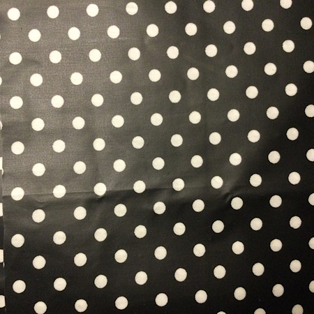 Pre-order Tripp Trapp Kussenset Zwart met witte stippen