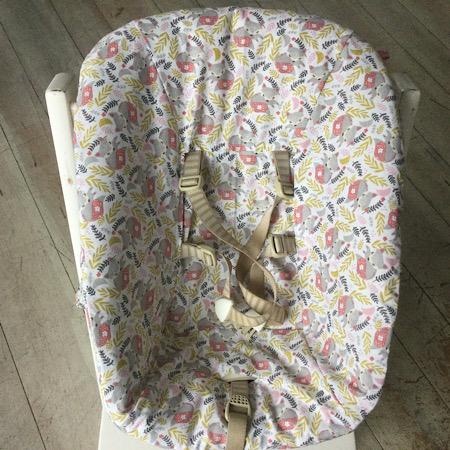 Stokke Newborn hoes Slapende vosjes roze